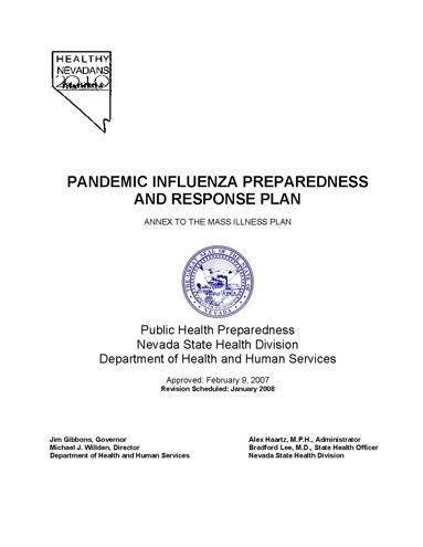 PandemicFluPlan