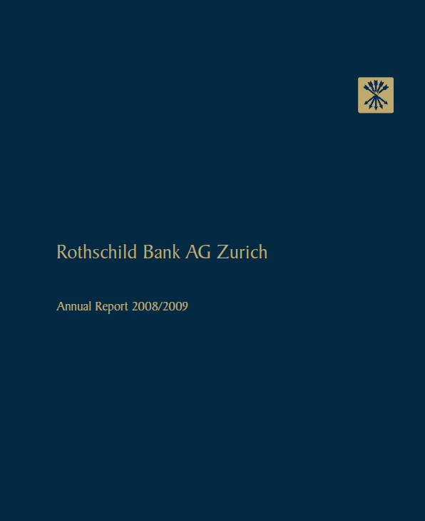 Annual Report of Rothschild Bank AG - 2008-2009