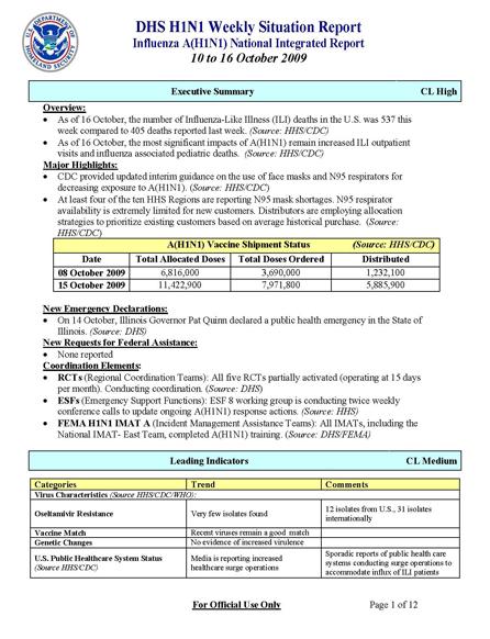 DHS-H1N1-Weekly-Sitrep-10_10-thru-10_16