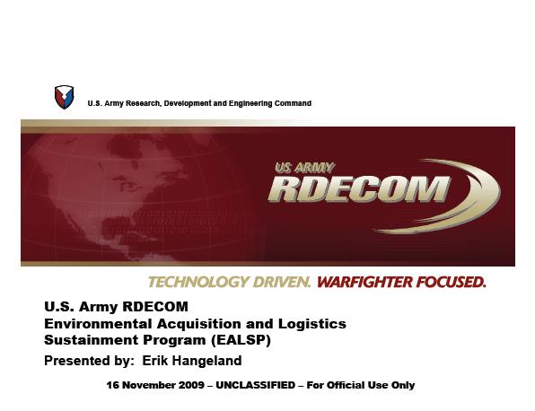 RDECOM-Briefing-11-16-09