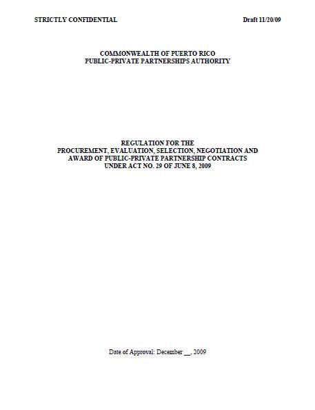 PPPRegulationsDraftNov-20-09