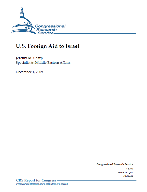 You Us foreign aid israel agree, this