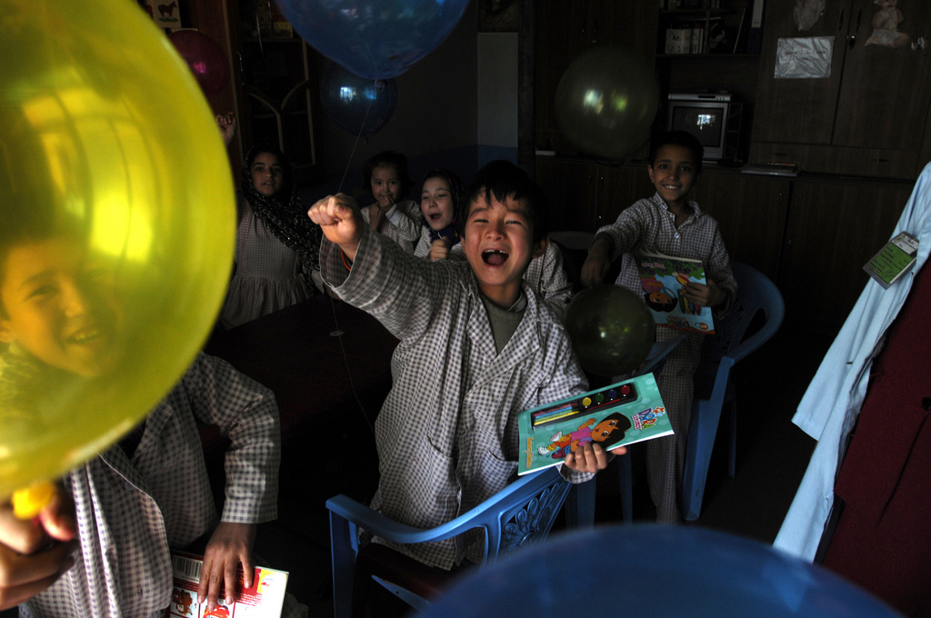 Afghan Balloon Party - Public Intelligence