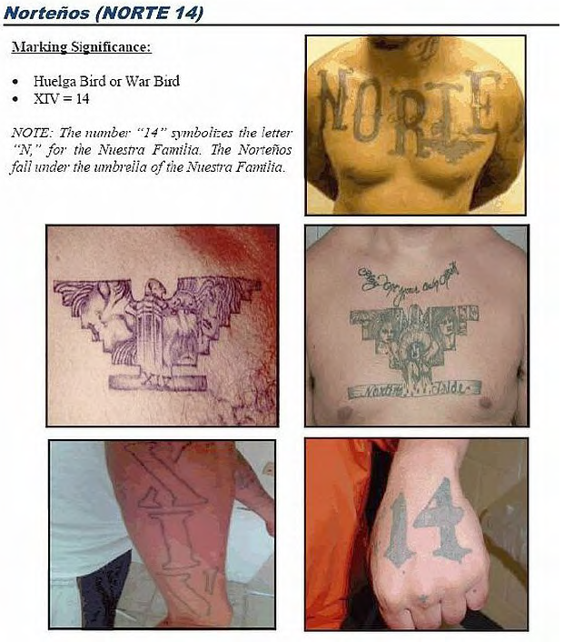 U Les Mexican Gang Tattoos Identification Guide