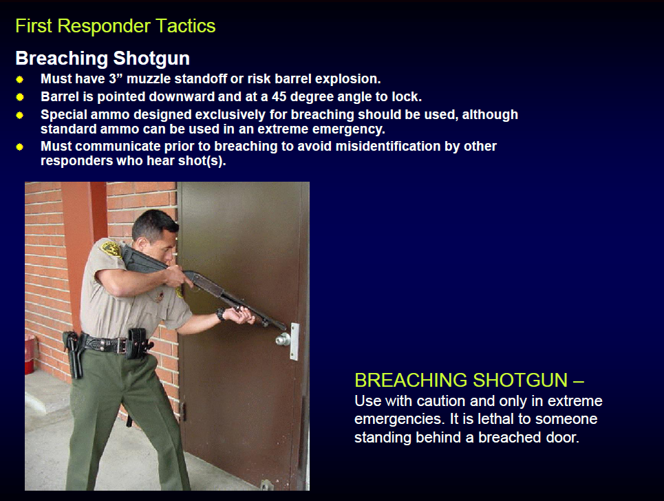 Los Angeles County Sheriff Active Shooter Response Tactics