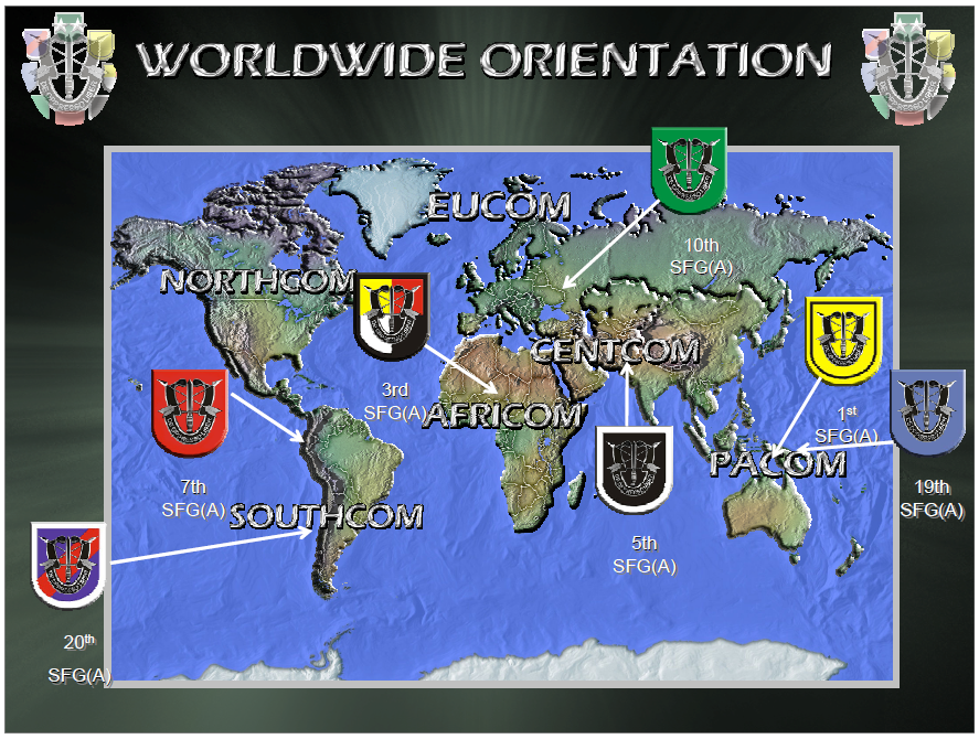 7th special forces group  airborne  command operations