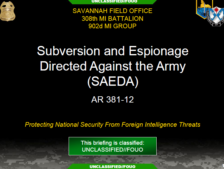 intelligence operations of the offensive and espionage Protect against espionage, other intelligence activities, sabotage, or assassinations  he also made excellent use of offensive counterintelligence operations unclassified there is one evil i dread, and that is, their spies i could wish, therefore, the most.