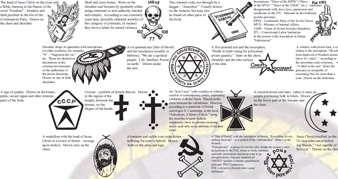 alaska state trooper russian criminal tattoos guide