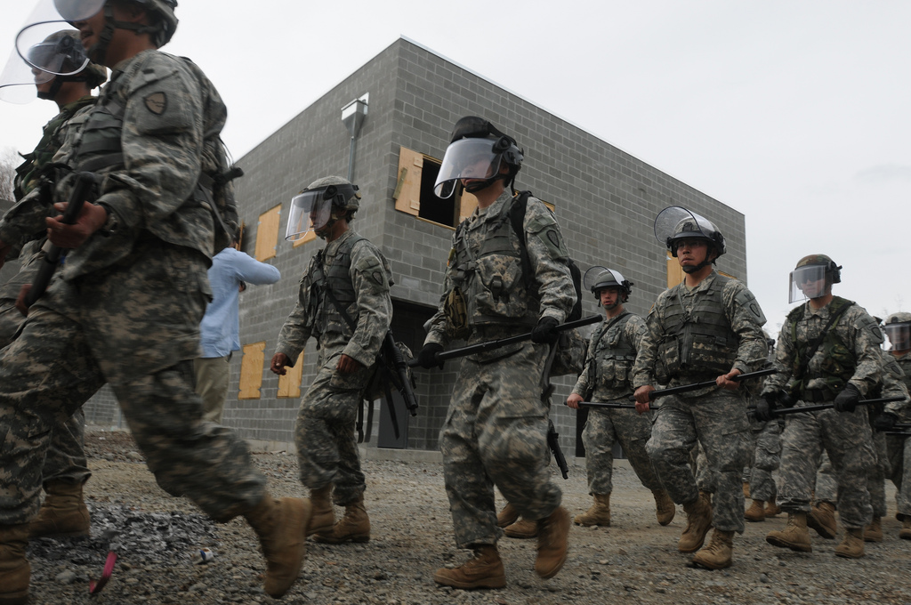 an analysis of the national guard training in the united states of america According to the national nuclear security administration (nnsa), approximately 1,400 industrial facilities in the united states house high-risk radiological sources.