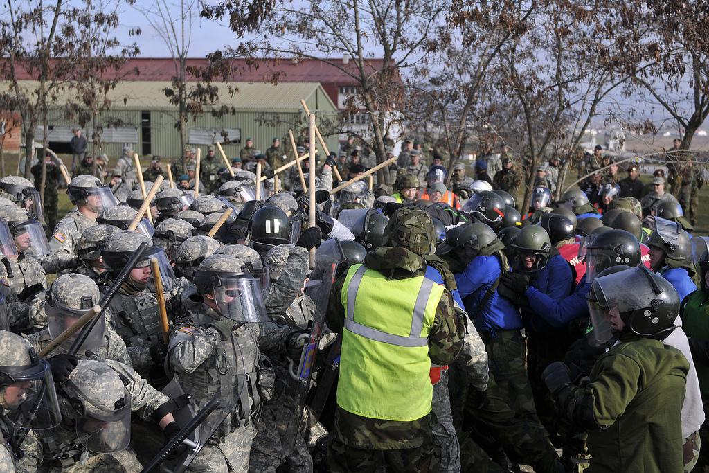 KFOR 12, MNTF-E, crowd riot control, CRC, deterrent presence KFOR 12, MNTF-E, crowd riot control, crc, deterrent presence