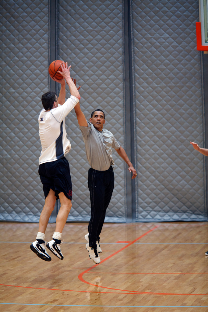 Barack Obama Loves Basketball Public Intelligence