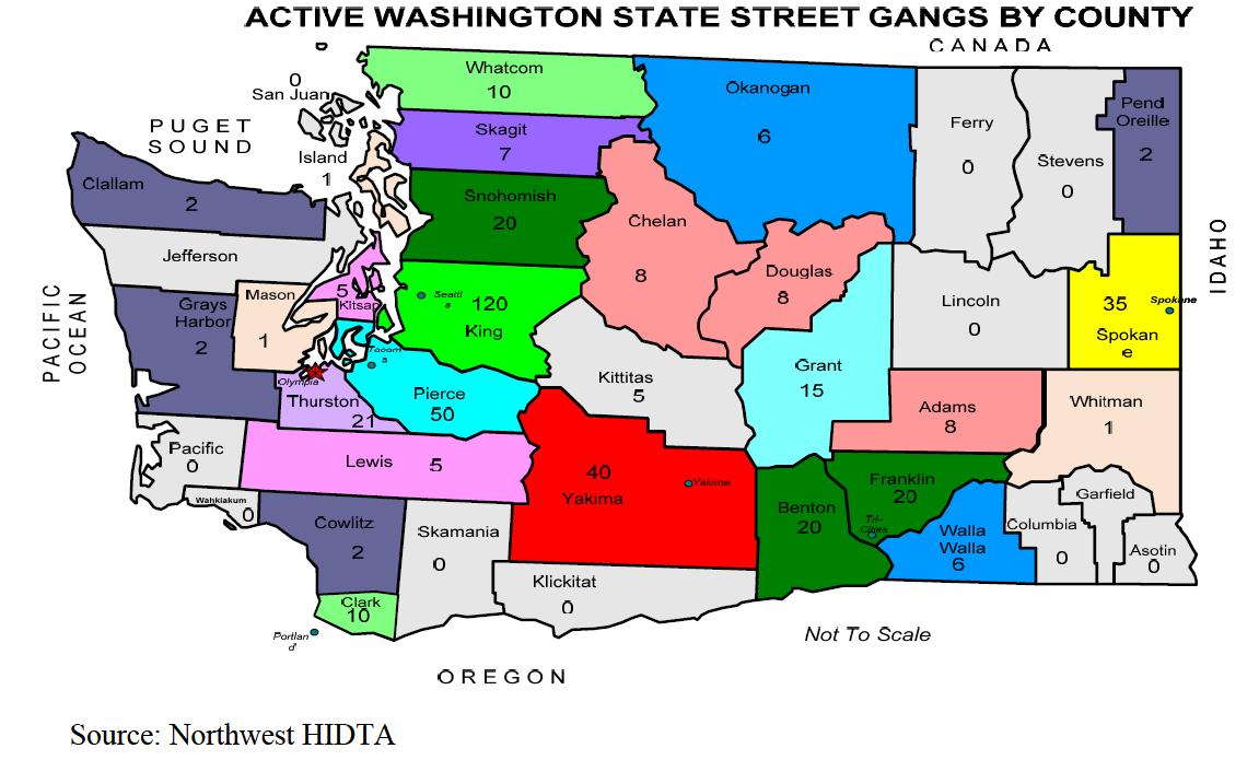 U//LES) Northwest HIDTA Washington State Gang Intelligence ... on pomona ny map, los angeles gang area map, oakland gangs territory map, california gang map, portland gang map, new york street gangs, compton gang map, compton los angeles map, south los angeles gang map, l.a. gang map, la street gangs map, gangs of new york map, pomona gang map, nyc gang map,