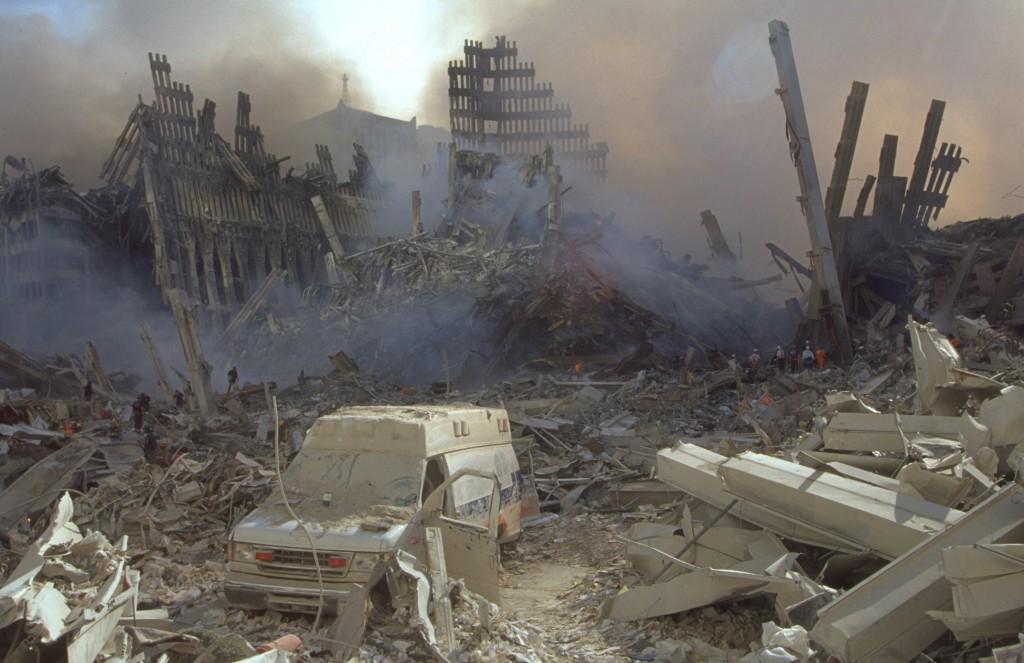 9/11 Ground Zero Damage Overview High-Resolution Photos ...