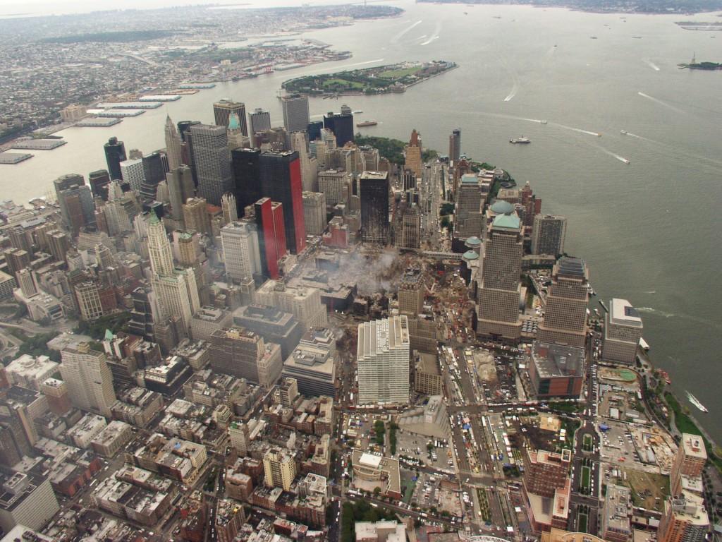 9/11 Ground Zero High-Resolution Aerial Photos | Public