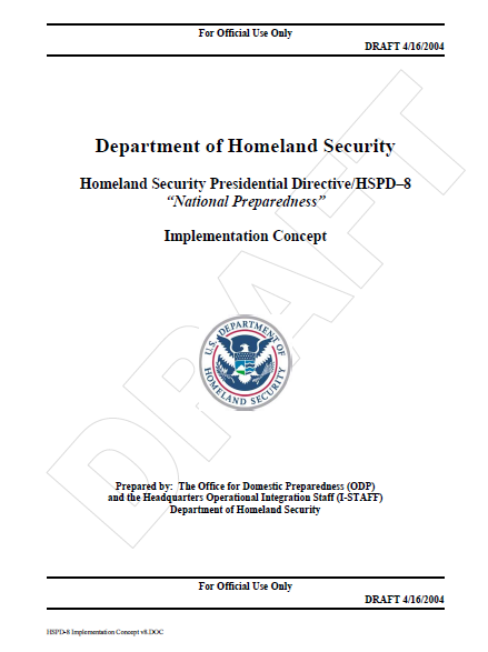 U s department of homeland security overview and recommendations essay