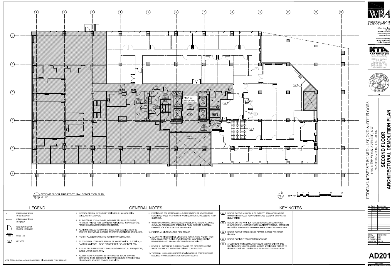 Federal Reserve Board Of Governors New York Ave Building - Washington dc map layout