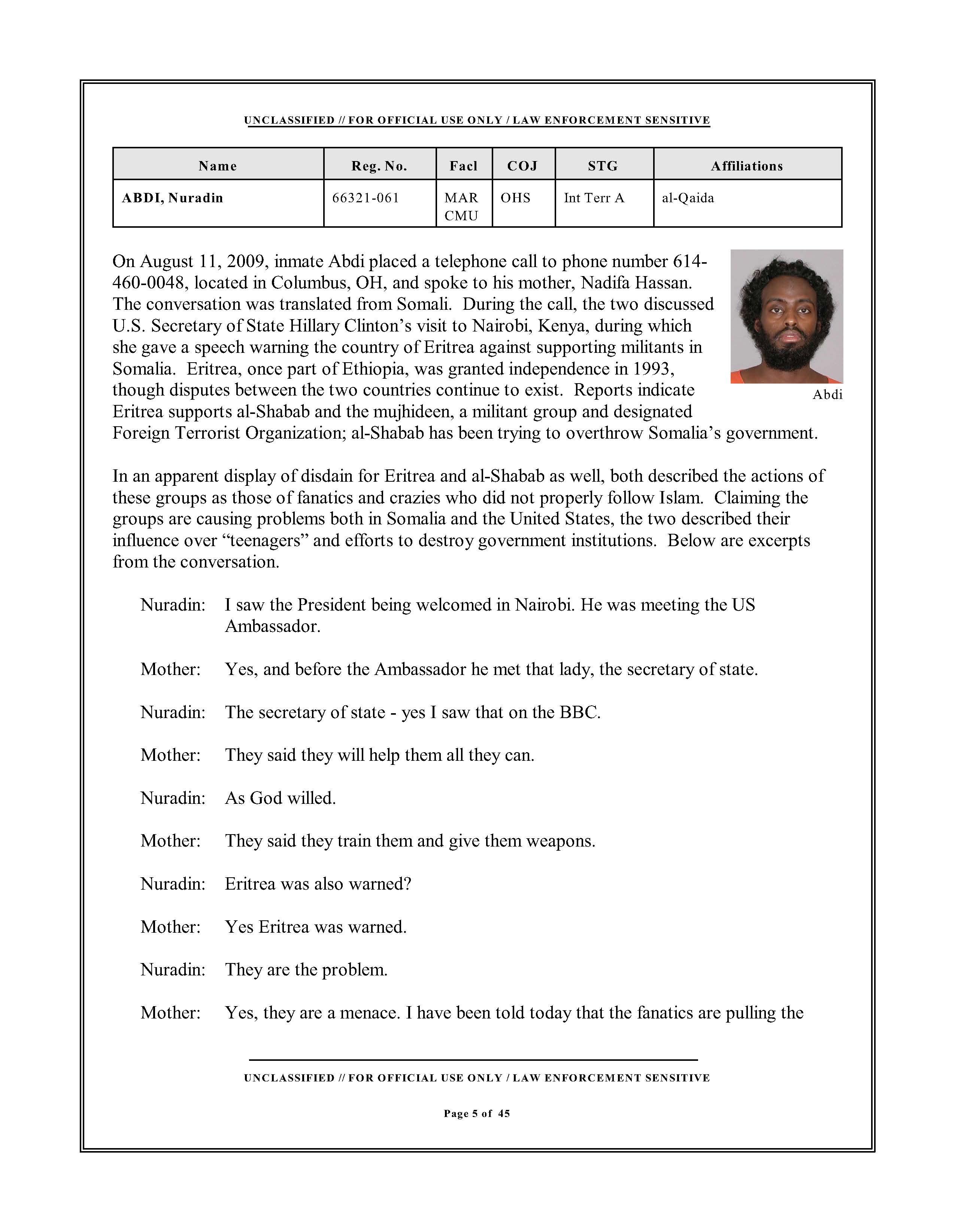 u fouo les federal bureau of prisons counter terrorism unit share this