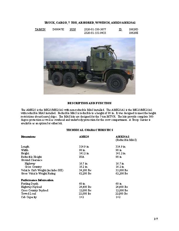 usmc motor transport characteristics manual