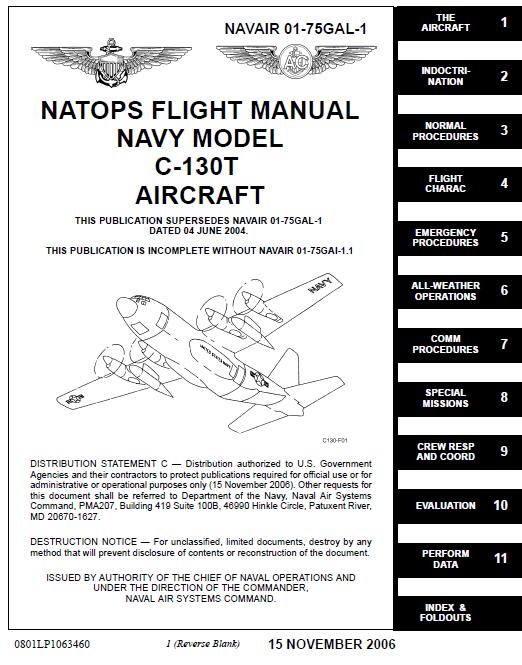 u s navy natops c 130t flight manual public intelligence rh publicintelligence net navy technical manual 347-2686 navy technical manual writing