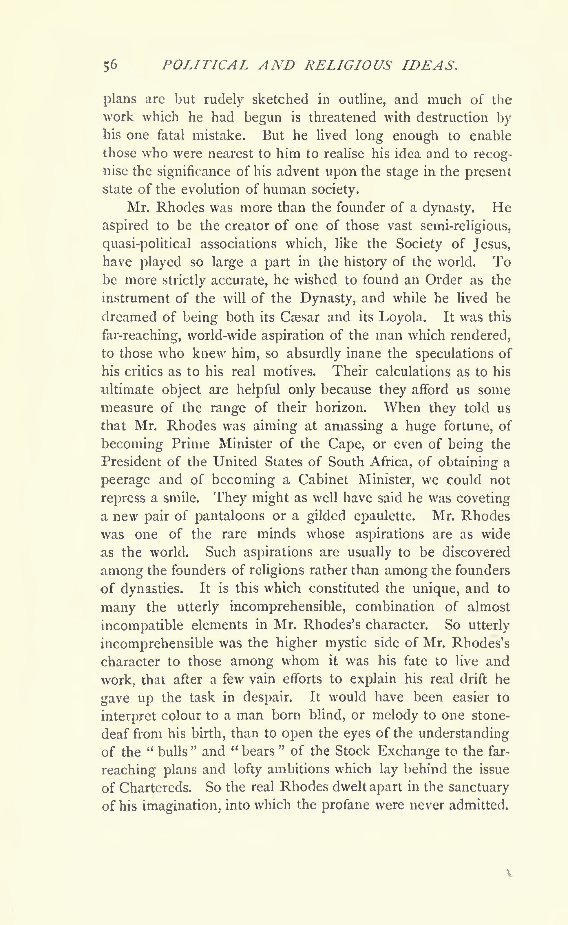 The Last Will And Testament Of Cecil John Rhodes 1902 Public