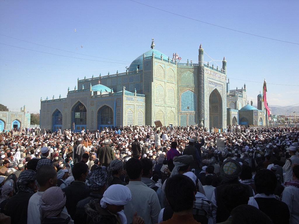 Mazar E Sharif Afghanistan Qur An Burning Protest Photos
