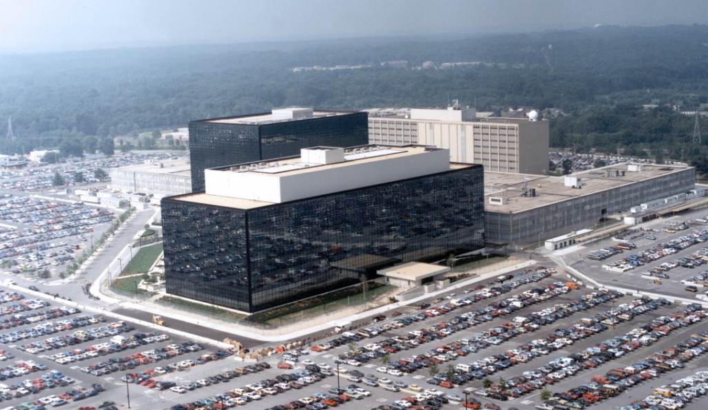 NSA Headquarters at Fort Meade.