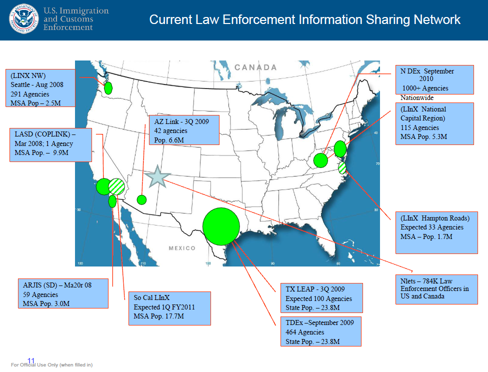 intelligence sharing intelligence and law enforcement To date, an increasing number of slt law enforcement agencies have expanded their intelligence capacity, and there have been fundamental changes in the national, state, and local information sharing infrastructure.