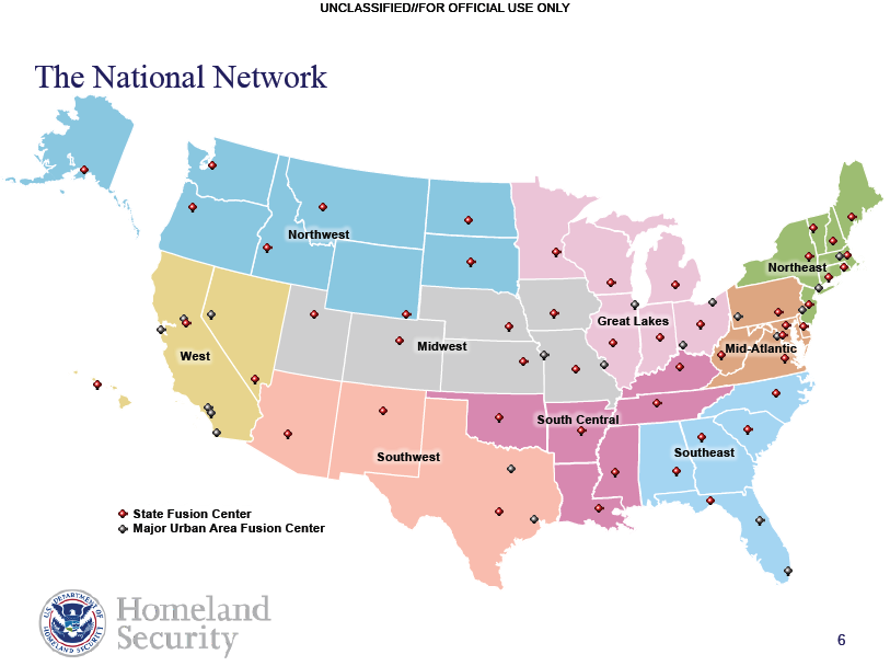 National Fusion Center Network