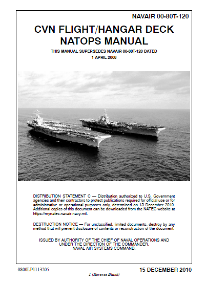u s  navy nuclear carrier vessel flight deck manual