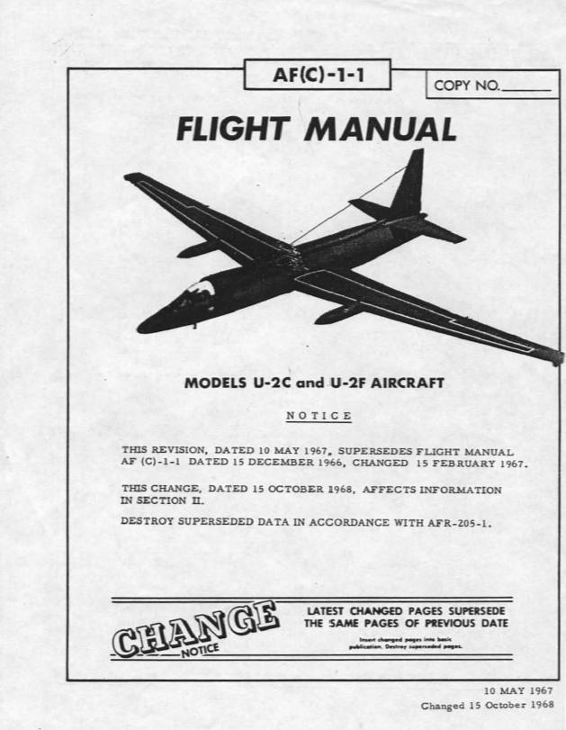 u s air force u 2 spy plane flight manual may 1967 public rh publicintelligence net airplane flight manual for pa 28-140 airplane flight manual da 40 ng