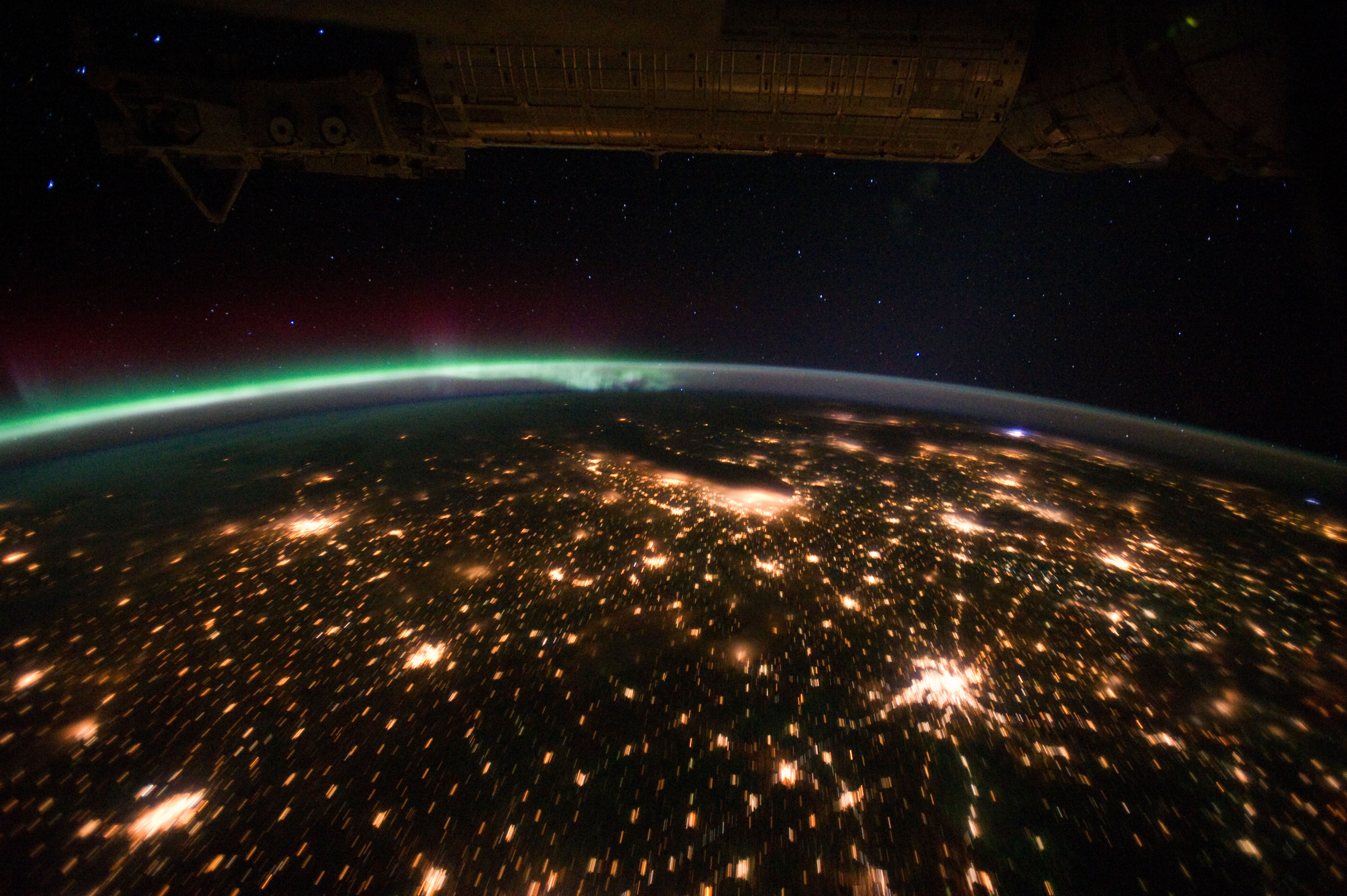 International Space Station Expedition 28 29 Earth