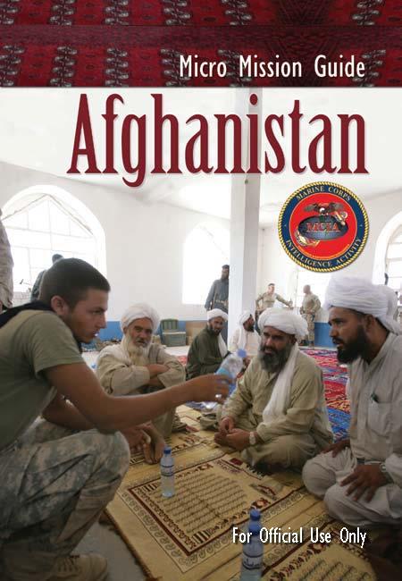 U//FOUO) U.S. Marine Corps Intelligence Afghanistan Micro Mission ...