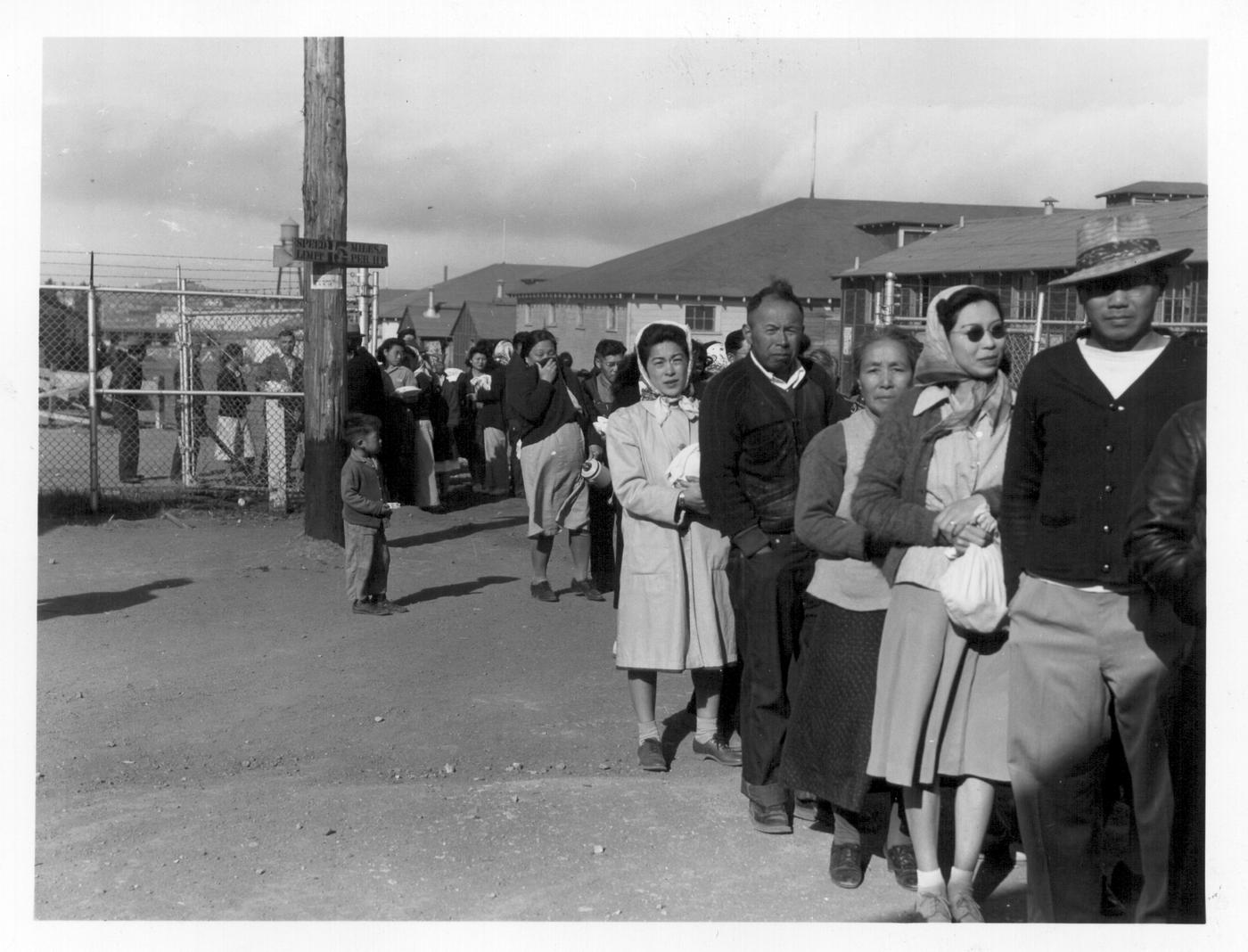 Image result for pictures of the internment camps
