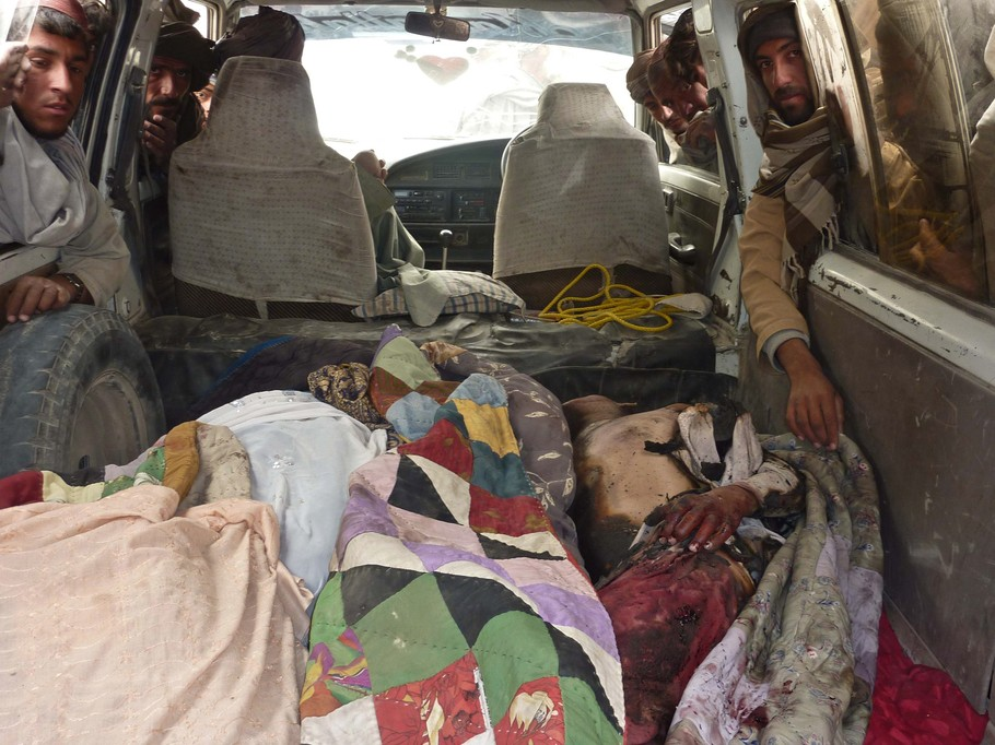 Graphic Photos of Afghan Civilians Killed by U S  Soldier on March
