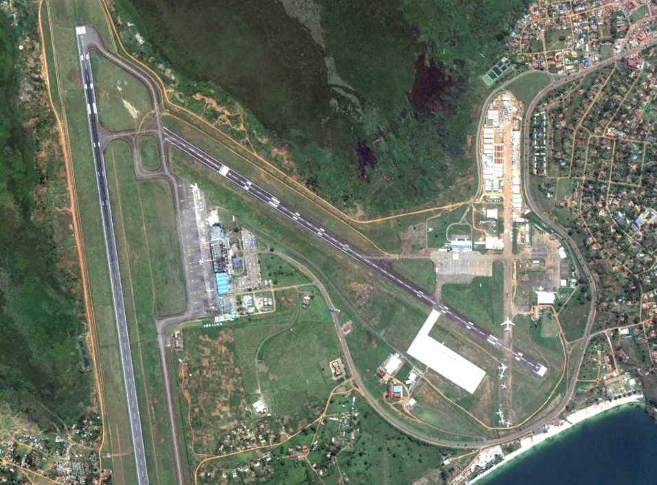 The Ugandan Military Operates An Airbase