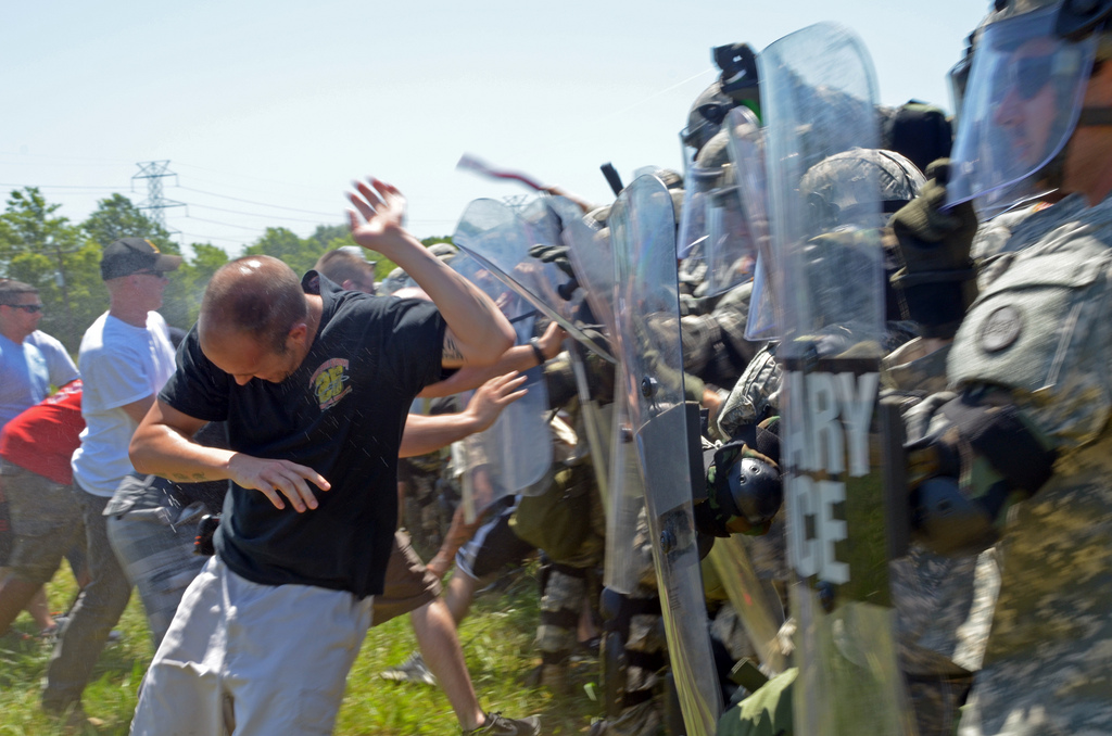 North Carolina National Guard Rapid Reaction Force Civil Unrest Training Photos nc rrf 3