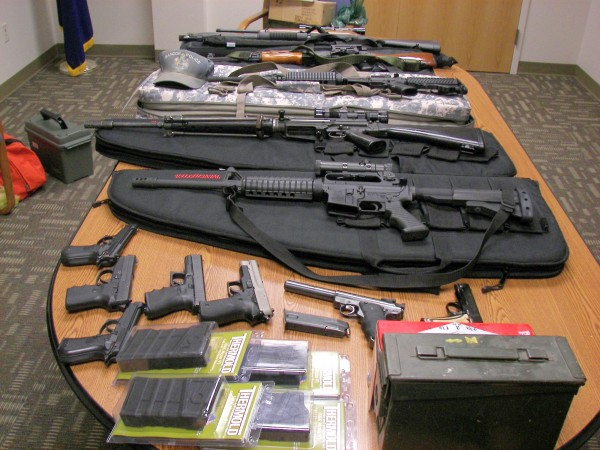 Feds Say Possession Of Large Amounts Of Weapons May