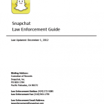 SnapchatLawEnforcementGuide