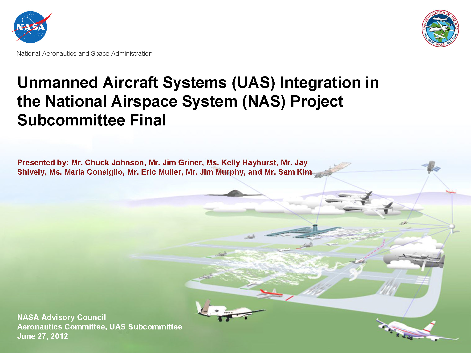 Nasa unmanned aircraft systems uas integration in the national related publicscrutiny Choice Image
