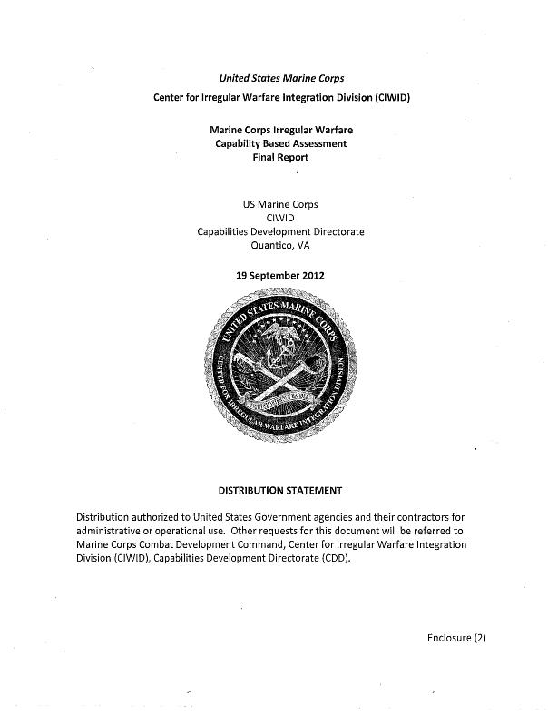 USMC-IrregularWarfareCBA