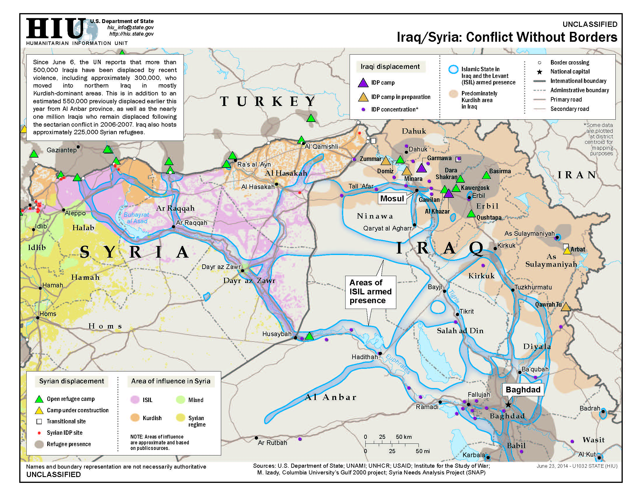 map iraq syria
