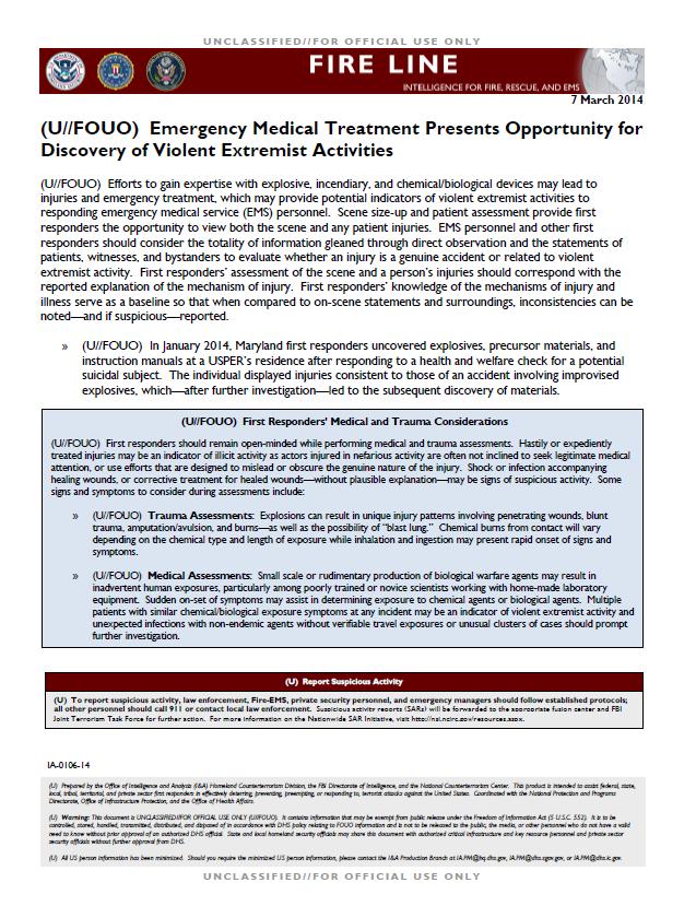 DHS-FBI-NCTC-MedicalTreatmentExtremists