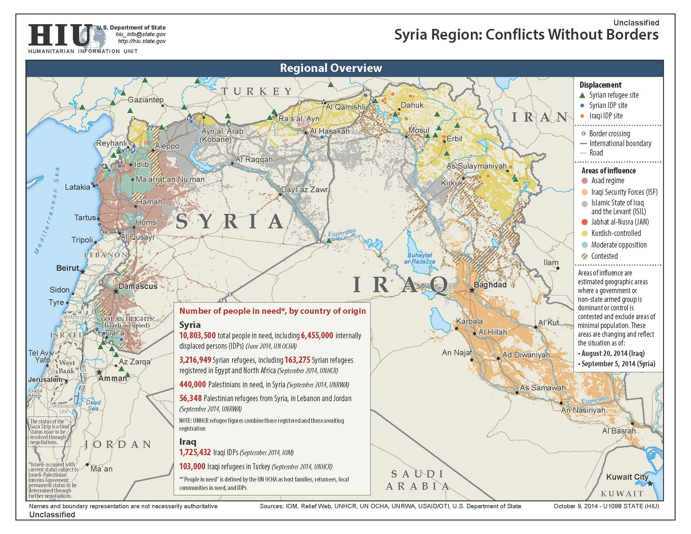 U.S. State Department Iraq-Syria Conflict Without Borders ...