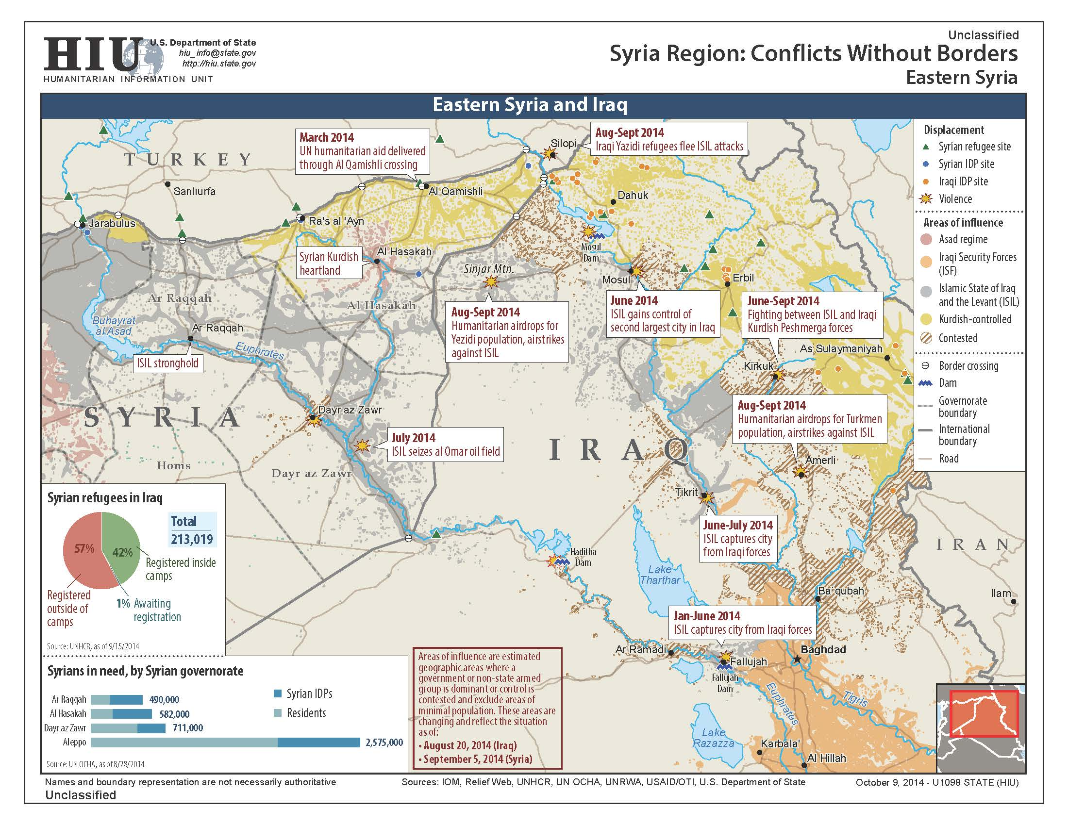 Islamic state in maps eastern syria and iraq 0ctober 9 gumiabroncs Images