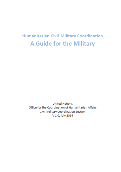 how to become a humanitarian affairs officer