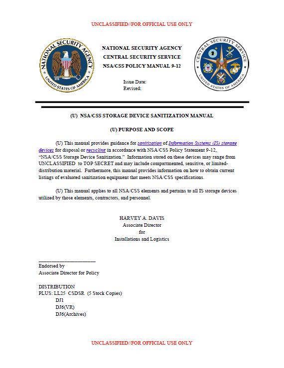 NSA-SanitizationManual