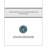 NCIX-UnauthorizedDisclosures