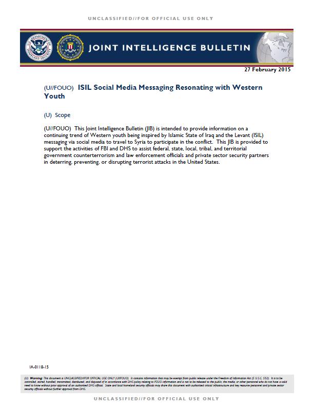 DHS-FBI-SocialMediaISIL