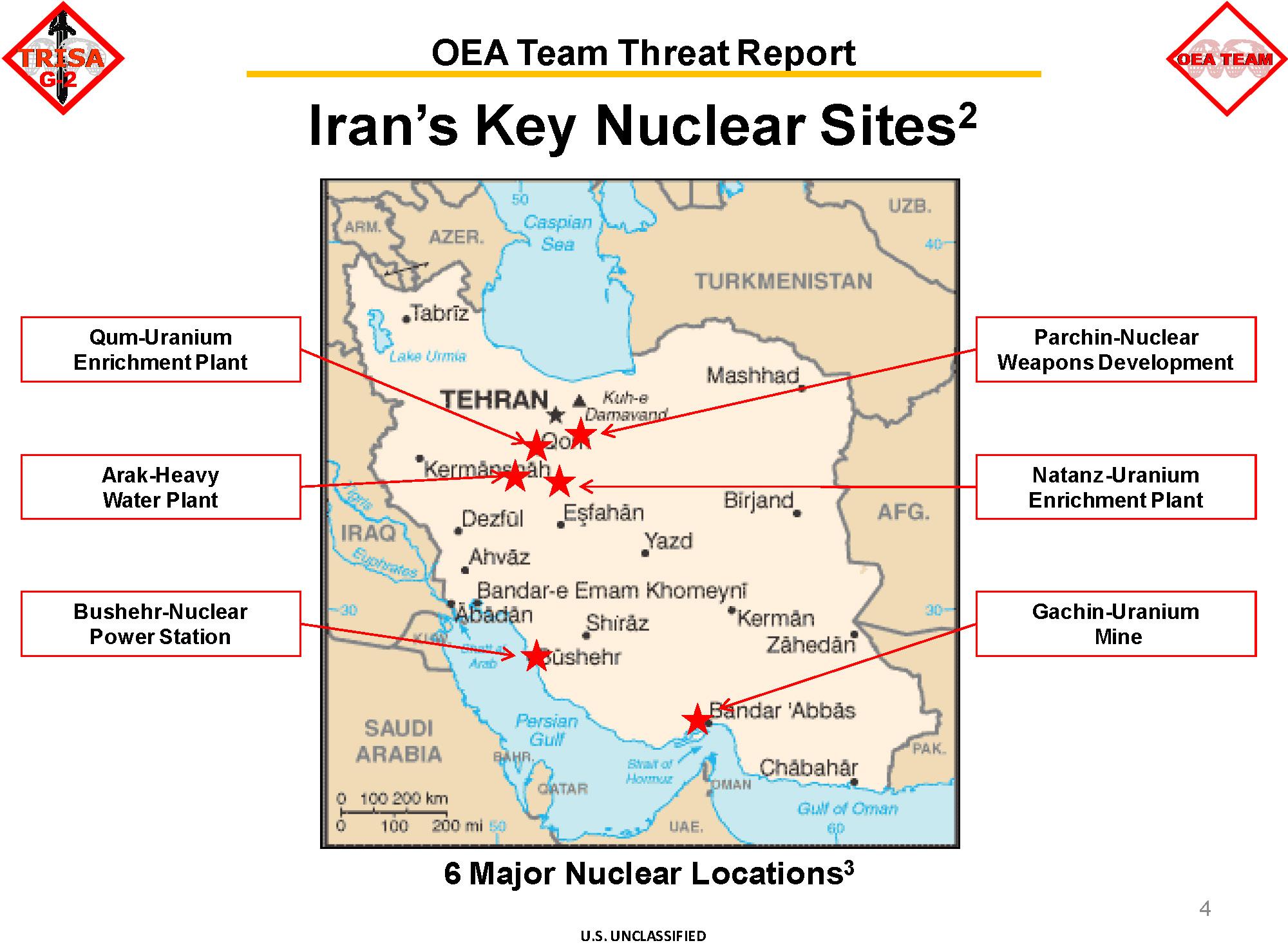 Essay on iran nuclear program