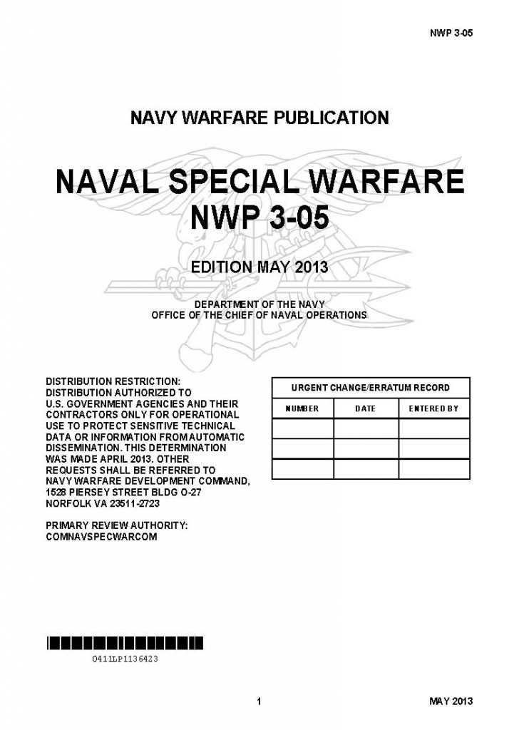 restricted u s navy special warfare manual nwp 3 05 public rh publicintelligence net navy technical manuals online navy technical manual 347-2686